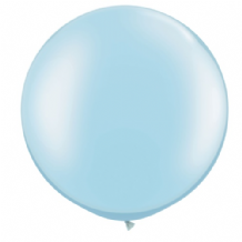 3ft Giant Balloons - Pearl Blue Latex Balloon 1pc